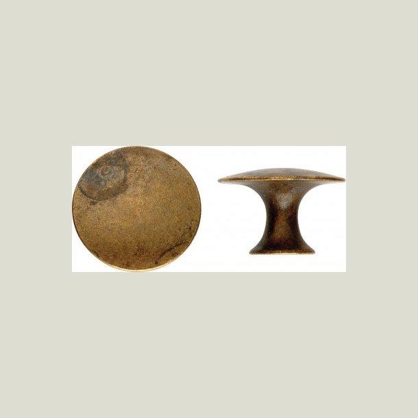 Knop antik behandlet 30 mm