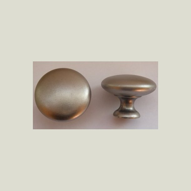 Knop tin farved 25 mm