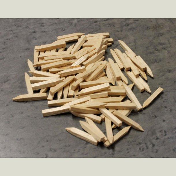 Træplug 4x4x30 mm