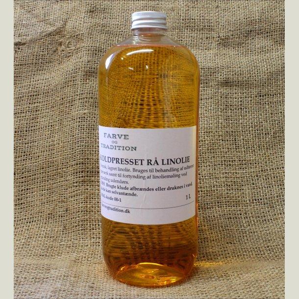 Rå koldpresset linolie    1 L