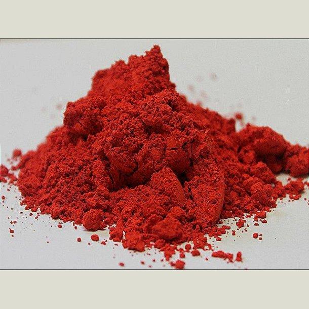 Klar rød cinnoberton